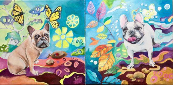 Maleri på bestilling - kæledyr