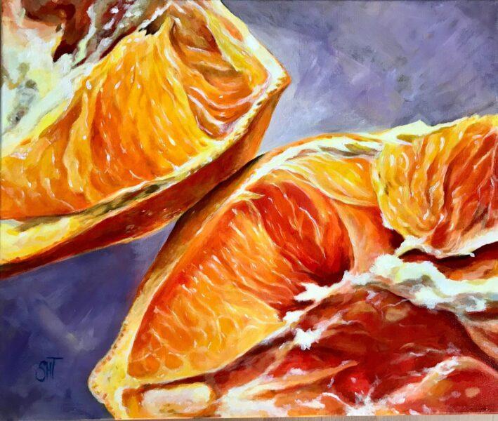 Appelsin Mål: 50 x 60 cm